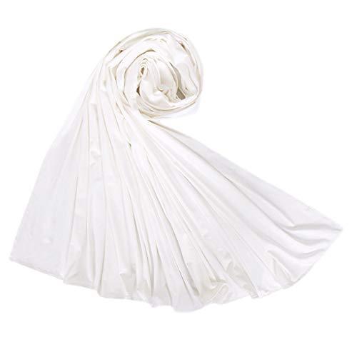 Lazzboy Frauen Ethnischen Abaya Islamischen Muslimischen Nahen Osten Solide Hijab Wrap Schal Kopfbedeckungen Baumwolle Lange Arabischen Headwear Großhandel(N)