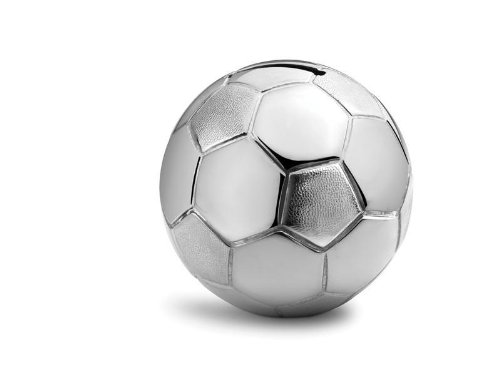 La hucha forma balón fútbol - tapas forma balón