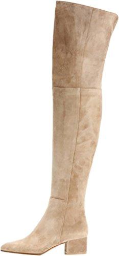 elehot-femme-ehighee-bloc-3cm-souple-bottes-beige-40