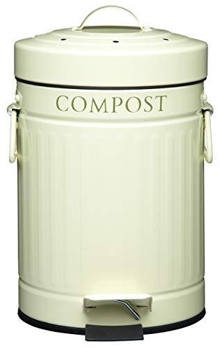 Kitchen Craft - Papelera a Pedal para Compost 3 L