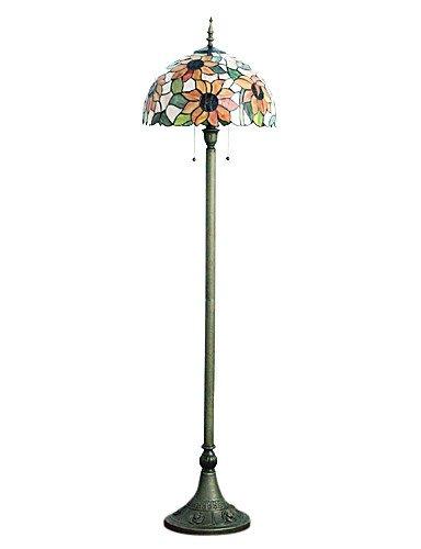 DLT11- 60W Künstlerische Besondere Stehleuchte Mit Frischen Sunflower Pattern And Pearls , 220-240v -