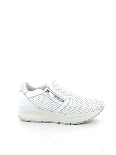 Pelle Weiß amp;co Igi Donna Made Scarpa argento 7776 Sneaker Bianco Silber Italy In Y0qPWwH