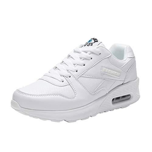 BBestseller Zapatillas de skate para hombre Zapatillas de Deportivo Mujer Plataforma Cordones Low-Top Sneakers Star Zapatos de Tela