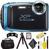 FUJIFILM FinePix XP130 Digital Camera (Blue) Pro Bundle