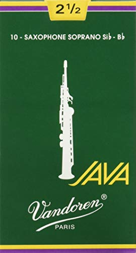 Vandoren SR3025 Box 10 Ance Java Verdi 2.5 Sax Soprano