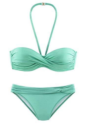 Lascana Bade-Bikini Capri , mint, B34 Cup-form-mint