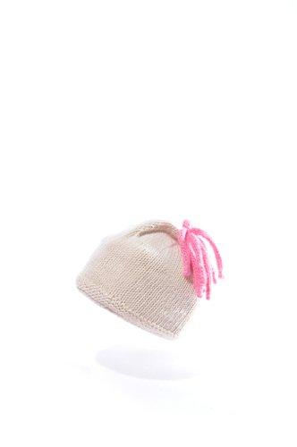 Child's Organic Cotton Beanie Hat - Topnot - 0-3 months