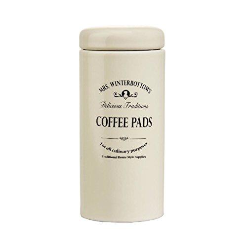 BUTLERS MRS. WINTERBOTTOM'S Kaffeepaddose Ø 7,5 cm