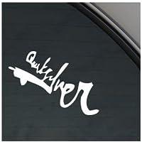 Pegatina Quiksilver de vinilo para ventana o parachoques de coche.