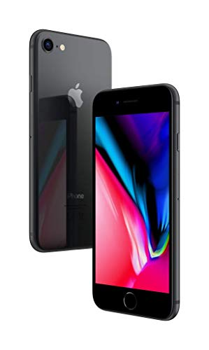 Apple iPhone 8 SIM única 4G 64GB Gris - Smartphone (11,9 cm (4.7'), 64 GB, 12 MP, iOS, 11, Gris)