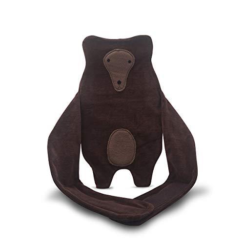 Wärmflaschenhülle großer Bär Wärmflaschenbezug zum umbinden