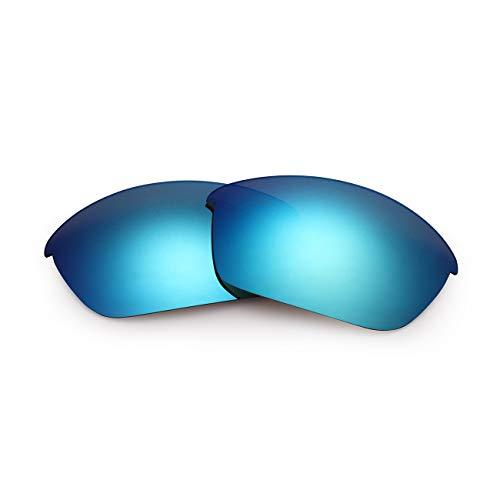 Polarisierte Ersatzgläser für Oakley Flak jacket (Blue)