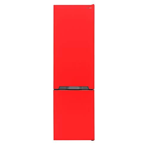 Sharp SJ-BA05IMXR2-EU Kühl-Gefrier-Kombination / A++ / Höhe 180 cm / Kühlteil 194 L / Gefrierteil 70 L / NoFrost / Steuerung über LED-Piktogramme / ZeroDegreeZone-Schubfach (0°C-Zone)