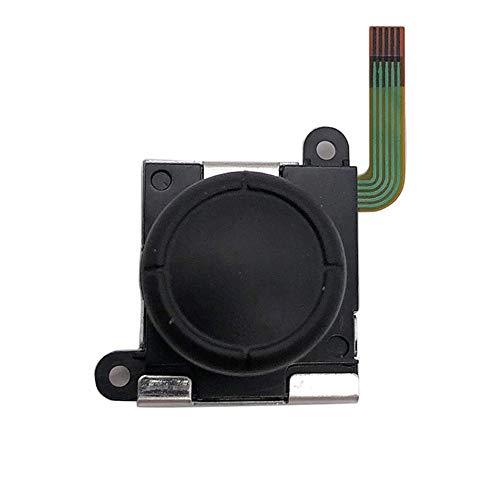 Preisvergleich Produktbild Professionelle Analog-Stick 3D-Taste Joystick Ersatzteile Analog-Joystick-Taste für Nintendo Switch Joy-Con Controller - Schwarz