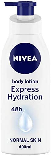 NIVEA Body Lotion For Men & Women, Express Hydration, for Fast Absorption, 40