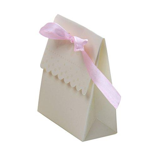 gungs Für Süße Kuchen Geschenk Süßigkeiten Boxen Taschen Jubiläumsparty (Hochzeits-kuchen-bevorzugung Boxes)