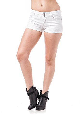 Khanomak - Short de sport - Femme Blanc