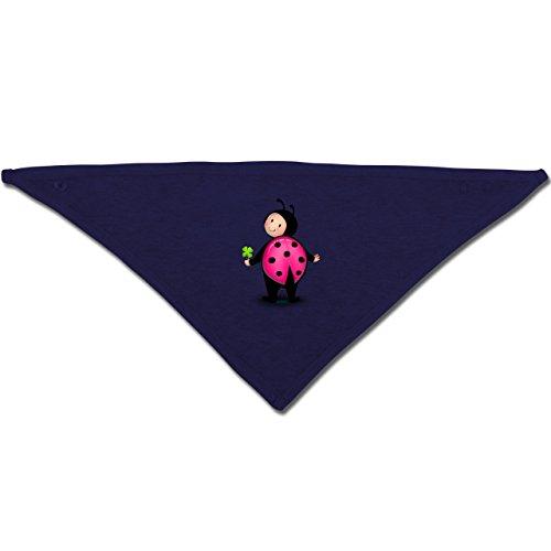Anlässe Baby - Marienkäfer - Unisize - Navy Blau - BZ23 - Baby-Halstuch als Geschenk-Idee für Mädchen und (Gute Ideen Kostüm Für Kids)