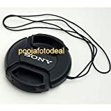 shopee Replacement Lens cap Cover 55mm For Sony alpha Lens with Thread 18-55mm lens for sony Image