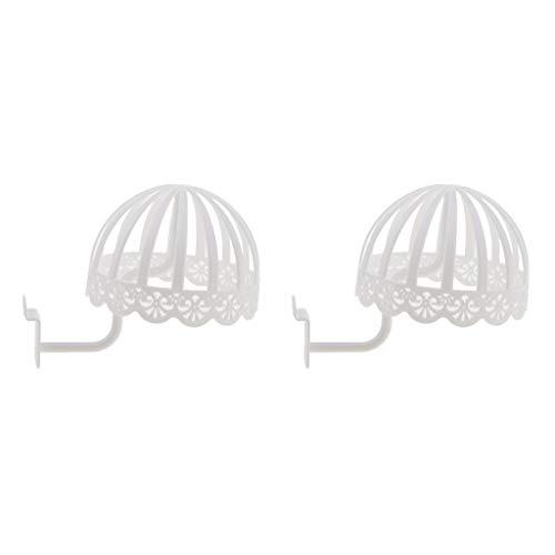 B Blesiya 2pcs Plastique Perruque Affichage Durable Stable Chapeau Perruques Cheveux Support Presentoir Casquette de Bébé Enfant