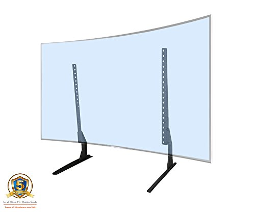 Tv-riser 4 (Allcam DS202 Universal Desk Stand / Monitor TV Riser Desk Pedestal TV Stand Tabletop for LCD LED TVs 32