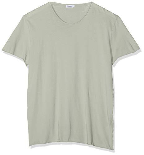 de274b5f556 Filippa K M. Roll Neck Tee T-Shirt, Vert (Limestone 8249), S Homme