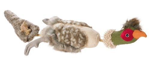 HUNTER ROPE PHEASANT Hundespielzeug, mit Baumwolle, Tau, zahnpflegend, Ente, 62 cm -
