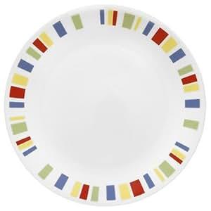 Corelle Livingware 8-1 / 2 Zoll, Weihnachtswintergarten, Memphis, Garten, Rasen, Instandhaltung
