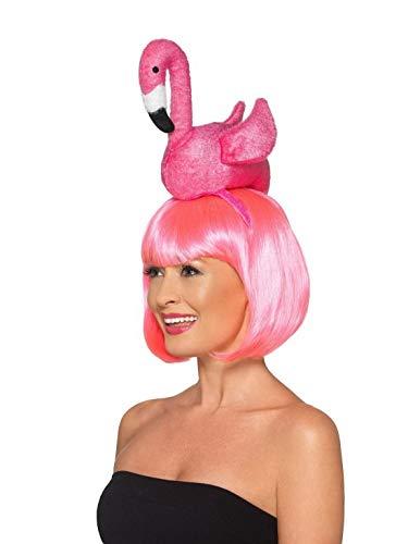 Halloweenia - Kostüm Accessoires Zubehör Damen Flamingo Kopfschmuck, perfekt für Karneval, Fasching und Fastnacht, - Löwe Kostüm Kopfschmuck