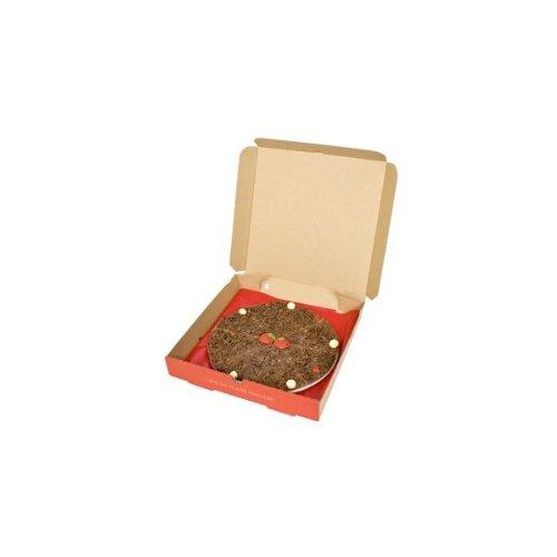 Pizza Gourmet Schokolade Belgische Schokolade Erdbeere & Champagner 10'' Pizza -Geschenk
