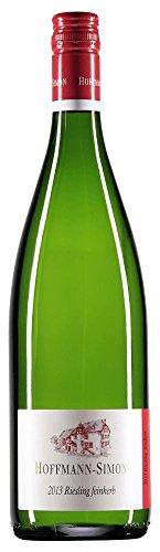 Guts-Riesling feinherb 1,0 l 2016 - Hoffmann-Simon | feinherber Sommerwein | deutscher Weißwein von der Mosel | 1 x 1,00 Liter