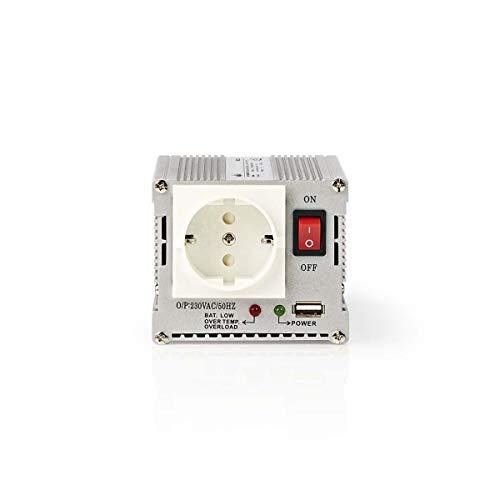TronicXL Profi Wechselrichter 12V 230V 300W + USB Port Lade Buchse Spannungswandler Zigarettenanzünder Steckdose Adapter Konverter Converter Strom für KFZ Auto umwandeln modifizierte Sinuswelle