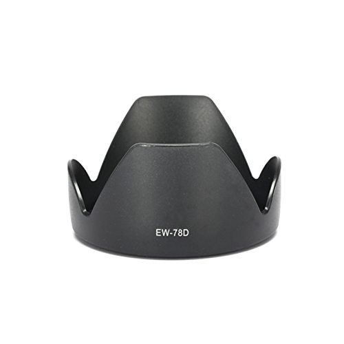 Selens EW-78D Gegenlichtblende für Canon EF-S 18-200mm f / 3.5-5.6 IS, EF 28-200mm f / 3.5-5.6 USM, EF 28-200mm f / 3.5-5.6