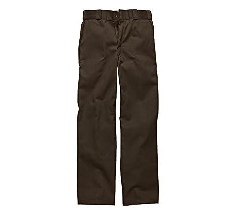 Dickies - Original 874® Work Pant Arbeitshose chino Herren Hose Dark Brown Größe 38/32