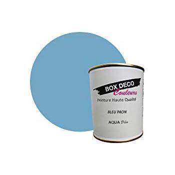 Peinture Acrylique Aspect Satin Aqua Déco Murale 34 Couleurs