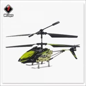 Wltoys S929 3.5 Channel Remote Control Helicopter with Gyroscope Green