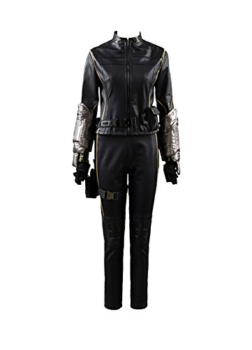 Agent Jacke (Agents of Shield S.H.I.E.L.D Quake Daisy Johnson Skay Outfit Cosplay Kostüm Damen XXXL)