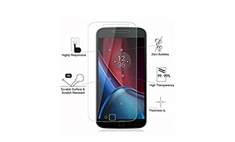 Deet® MOTO G4 2016 Premium Invisible Tempered Glass Screen Protector