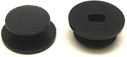 s Analog Joystick Stick Cap Button Controller Thumbstick Cover für PSP 2000300020043004Slim & Lite (Schwarz). ()