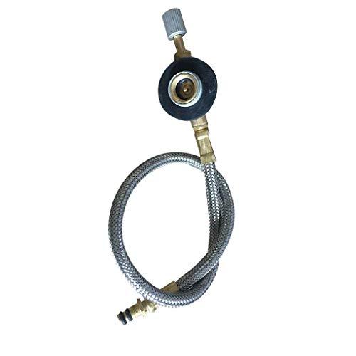 Propan-refill-adapter (Luckiests Outdoor-Camping-Kocher Adaptertubus Gasflaschen Behälter Propan Refill-Adapter)