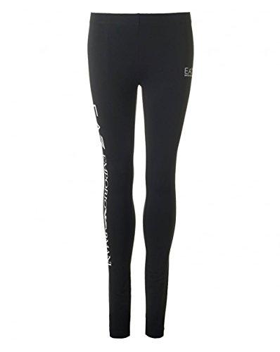 Emporio Armani Womens Ea7 Train Logo Series Leggings in Black
