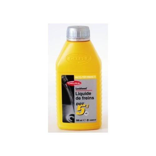 Delphi Liquide de Frein Dot 5.1 Ultra 0.5 Litre