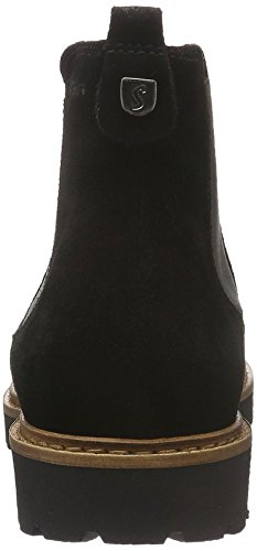 Sioux Damen Vesela Chelsea Boots Schwarz (Schwarz)