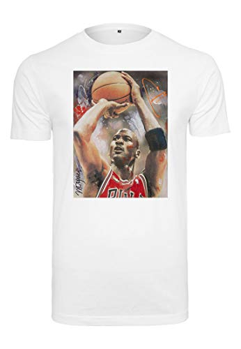 hael Basketball T-Shirt, White, 2XL ()
