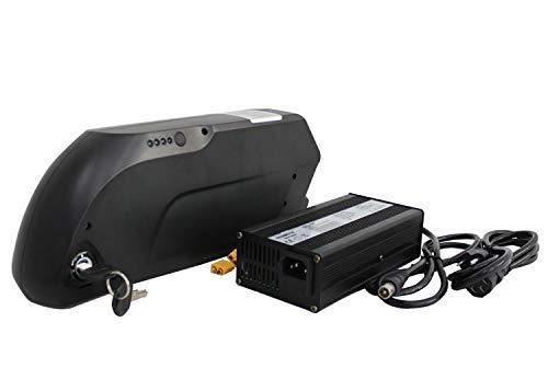 HYLH Freie Aufgabe 48V 12.5AH 600WH Tiger Shark elektrisches Fahrrad ebike Unterrohr-Li-Ionbatterie mit Soem-Zelle + Ladegerät 5A + 45A BMS