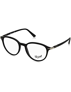 Persol 0PO3169V, Monturas de Gafas para Hombre, Matte Black, 50