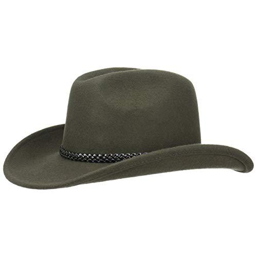 Lipodo Cowboyhut Texashut Wollfilzhut (M/56-57 - ()