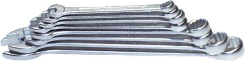 H & G Bague Jeu de clés mixtes à fourche 12 pièces 10-32 mm