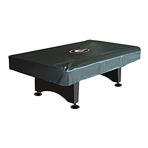Imperial Officially Licensed NCAA Merchandise: Billiard/Pool Table Naugahyde Cover, 8-Foot Table, Georgia
