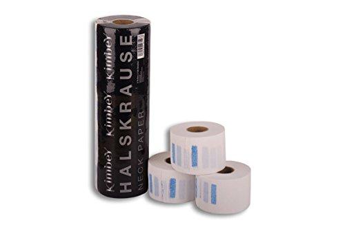 Femmas collo krause 1asta–5rotoli di carta da 100fogli parrucchiere sul collo della krause | neck paper, parrucchiere necessità